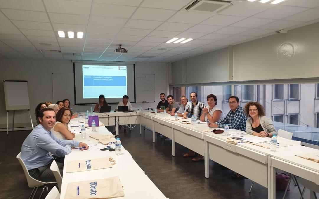 Colaborando con la Universidad de Deusto en la formación del nuevo profesorado
