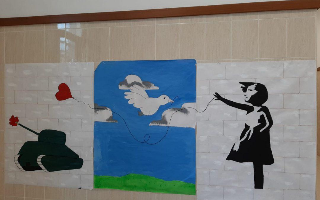 Un artístico equipo trabajando por la paz