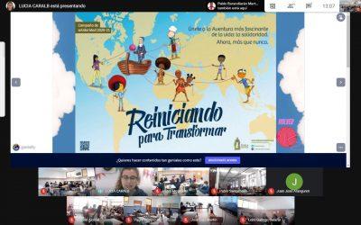 CLASES DE RELI CONECTADAS Y PREPARADAS PARA LA CAMPAÑA DE SOLIDARIDAD