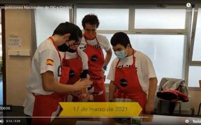Somos campeones del concurso de cocina nacional SKILLS + y ahora a por el europeo